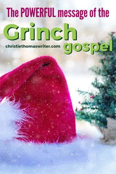 "What is the gospel? We can learn its elements from Dr. Seuss' ""Grinch"" story, and see how they compare to the Christmas story in the Bible. Use this with children or adults, at home or in Sunday School. Object Lessons, Bible Lessons, Lessons For Kids, Youth Lessons, Christmas Sunday School Lessons, Christmas Program, A Christmas Story, Grinch Christmas, Christmas Ideas"