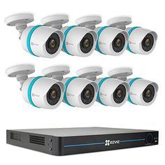 Cheap EZVIZ FULL HD 1080p Outdoor IP PoE Surveillance System 8 Weatherproof HD Security Cameras 16 Channel 3TB NVR Storage 100ft Night Vision Customizable Motion Detection http://ift.tt/2AHNm0E
