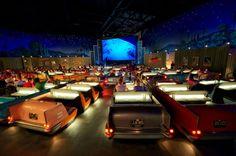 Sci-Fi Dine-in Theater, Echo Lake, Disney's Hollywood Studios, Walt Disney World Resort Restaurant Disney, Best Disney Restaurants, Restaurant Photos, Disney's Hollywood Studios, Walt Disney World, Disney Parks, Disney Worlds, Dine In Theater, Movie Theater