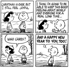 happy new year to you too. Snoopy Cartoon, Peanuts Cartoon, Cartoon Pics, Peanuts Gang, Peanuts Comics, Cartoon Characters, Cartoon Art, Peanuts Christmas, Charlie Brown Christmas