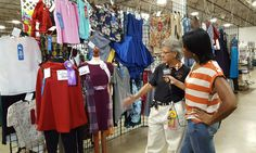 Thousands of 4-H Home Arts Clothing Exhibits.