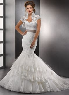 Sottero and Midgley Tenille - Looks like a spanish style dress.