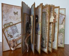 A Soul's Heartbeat: Prima Nature's Garden Vertical Paper Bag Mini Album