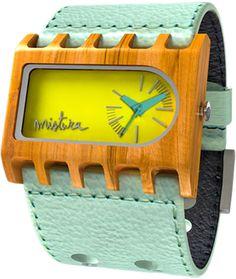 mistura - Wooden Ferro Watch