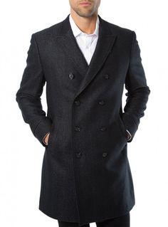 "7 Diamonds ""Genoa"" Men's Fashion 3/4 Length Wool Jacket $395"