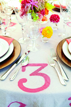 Check out the Daily South for how to DIY these adorable table cloths!
