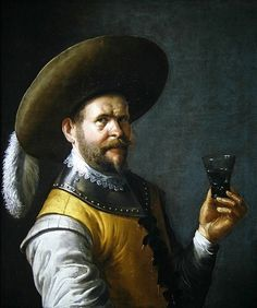 A self portrait of the artist Art Prints by Joost Cornelisz. Droochsloot - Magnolia Box