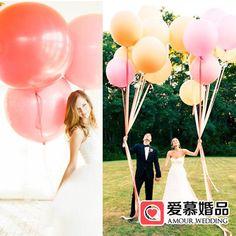 Купить 90 см высокое качество негабаритных плавающей воздушные свадьба воздушный шар печать шар 36 дюймовый Фото большие шары из категории Воздушные шары на Kupinatao.com
