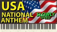 Piano Tutorials for everybody USA National Anthem La Marseillaise SLOWLY Synthesia with sheets notes Gravity Falls United States of America National Anthem, Gravity Falls, Piano, United States, Company Logo, Notes, Tutorials, The Unit, America