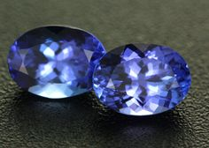 2.28CTS VVS CERTIFIED TANZANITE MATCHED PAIR - RARE [ZST320] gemstones