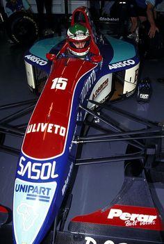Marco Apicella (ITA) (Sasol Jordan), Jordan 193 - Hart 1035 3.5 V10 (RET)  1993 Italian Grand Prix, Autodromo Nazionale Monza