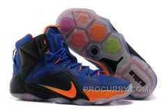 https://www.procurry.com/nike-lebron-12-hyper-blue-blackorange-for-sale.html NIKE LEBRON 12 HYPER BLUE/BLACK-ORANGE FOR SALE Only $108.00 , Free Shipping!