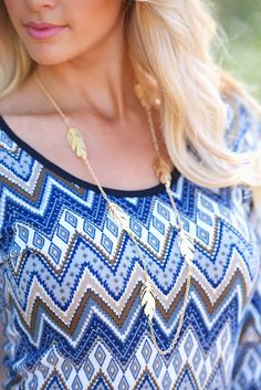Leaves Are Falling Necklaces from Closet Candy Boutique