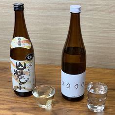 新潟亀田わたご酒店さんが厳選した日本酒が毎月届く「日本酒に詳しくなれる入門コース」✨今月のテーマ「酒米の生産者と酒蔵の関係」に合わせた日本酒2本が届きました🍶🌾✨ Wine, Drinks, Bottle, Drinking, Beverages, Flask, Drink, Jars, Beverage