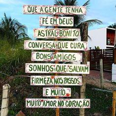 Península de Maraú - Barra Grande - 027lifestyle Good Morning People, Positive Phrases, Good Vibes, Lettering, Words, Instagram, Slime, Inspiration, Home Decor