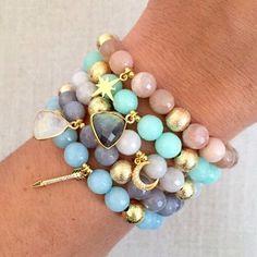 The Chloe  Our favorite little charm bracelet! Choose from 5 fabulous colors at lovesaffect.com! {direct link in bio} #lovesaffect