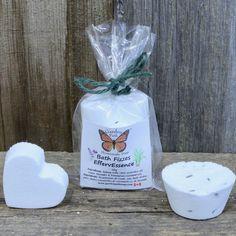 Lemongrass and Lavender Natural Bath Fizz - Garden Path Homemade Soap - Made in Canada