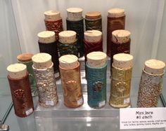 Mini Jars By Linda Neubauer Pottery