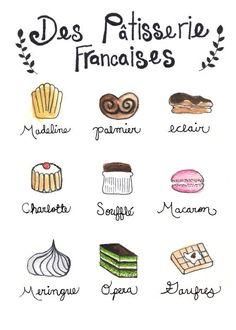 Patisserie Francaises,