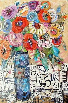 I lOVE this.  www.dailypaintworks.com/fineart/nancy-standlee/pump-up-the-volume-12091/77145#