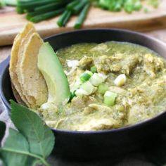 Guatemalan Green Chicken Stew