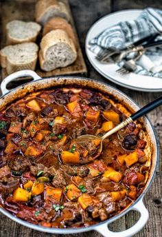 Why not cosy up with a huge pot of Stone Bake's slow-cooked Vietnamese beef stew? It's full of flavour and looks as good as it tastes.