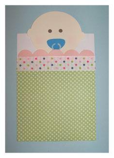 DIY Baby Shower Invitations ~ Baby In Bunting Pocket Invitations