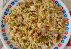 Fried Rice, Good Food, Food And Drink, Cooking, Ethnic Recipes, Muffin, Diet, Bulgur, Kitchen
