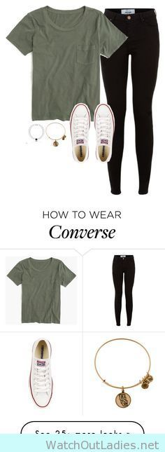 How to wear converse and skinny jeans