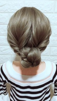 Hairstyle Tutorial 864 - Easy hairstyles for long hair - Simple Updo Tutorial, Hairstyle Tutorial, Curly Hair Styles, Natural Hair Styles, Natural Looking Wigs, Hair Upstyles, Synthetic Lace Front Wigs, Purple Hair, Dark Purple