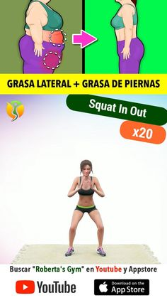 Full Body Gym Workout, Hiit Workout At Home, Gym Workout Videos, Flat Belly Workout, Gym Workout For Beginners, Easy Workouts, Health And Fitness Expo, Senior Fitness, Weight Loss Workout Plan
