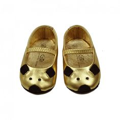 Baby Gold Shoes 5
