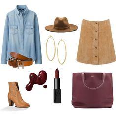 look de shopping by mamjur1972 on Polyvore featuring moda, Uniqlo, Miss Selfridge, UGG Australia, Aurélie Bidermann, rag & bone and NARS Cosmetics