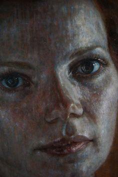Details of paintings by Hanneke Naterop, via Behance