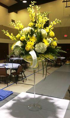 Large Margarita's adorned in festive yellow flowers. Funeral Flower Arrangements, Funeral Flowers, Floral Arrangements, Buy Flowers, Yellow Flowers, Saint Joseph, Local Florist, Catholic, Festive