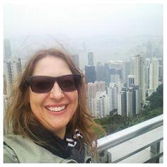 Being a tourist in Hong Kong.  #hongkong #selfie #thepeak #holiday #tourist