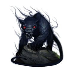 Nightshade Undead - Nightprowler - Pathfinder PFRPG DND D&D 3.5 5th ed d20 fantasy