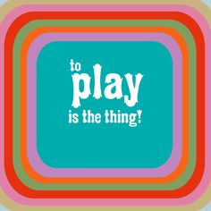 GraffitiWall®: to play is the thing!