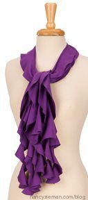 How to sew scarves Sew Amazing Scarves Sewing With Nancy Zieman