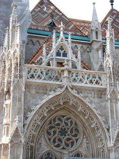 A csodálatos Mátyás templom. Budapest - Hungary