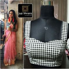 Trendy sari blouse