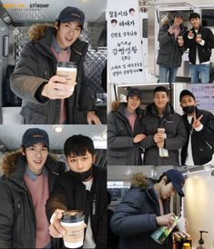 "Yoo Yeon-seok and Son Ho-jun on the Set of ""Prison Playbook"""