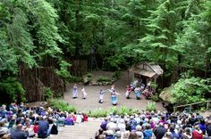 Kitsap Forest Theater, Bremerton, WA  You have to hike there but it is so worth it!-Roots