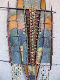 Planting Stones (detail) - Adirondack Weaver