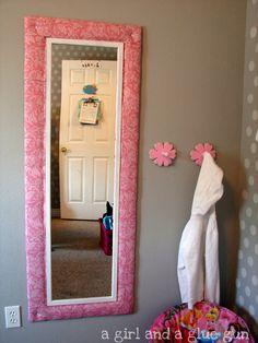 mirror mirror on the wall... - A girl and a glue gun