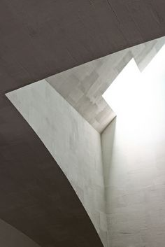 Think of ways to portray this effect in my room.  -Chapel of St. Ignatius, Seattle - Steven Holl, via Flickr.