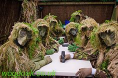 Junior Sniper Party at Woodoak Wilderness, Surrey, England UK www.woodoak.co.uk