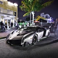 The Second of three Lamborghini Veneno's Is Now In South Beach, Florida! Is this the coolest car in the world? Hit the link to watch the coolest car delivery EVER.