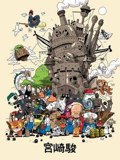This Weekend in NYC: Miyazaki Art Show! – Spoke Art