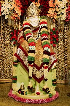 """""""One who wears a white dress;  One who is omnipresent;  One who is present everywhere and in all;  One who shines like the Moon;  One who has a beautiful and shining face;  One who wards off all obstacles.  I meditate on Him.""""   ❤️ॐOM SAI RAMॐ❤️  #sairam #shirdi #saibaba #saideva  Please share; FB: www.fb.com/ShirdiSBSS Twitter: https://twitter.com/shirdisbss Blog: http://ssbshraddhasaburi.blogspot.com  G+: https://plus.google.com/100079055901849941375/posts"""